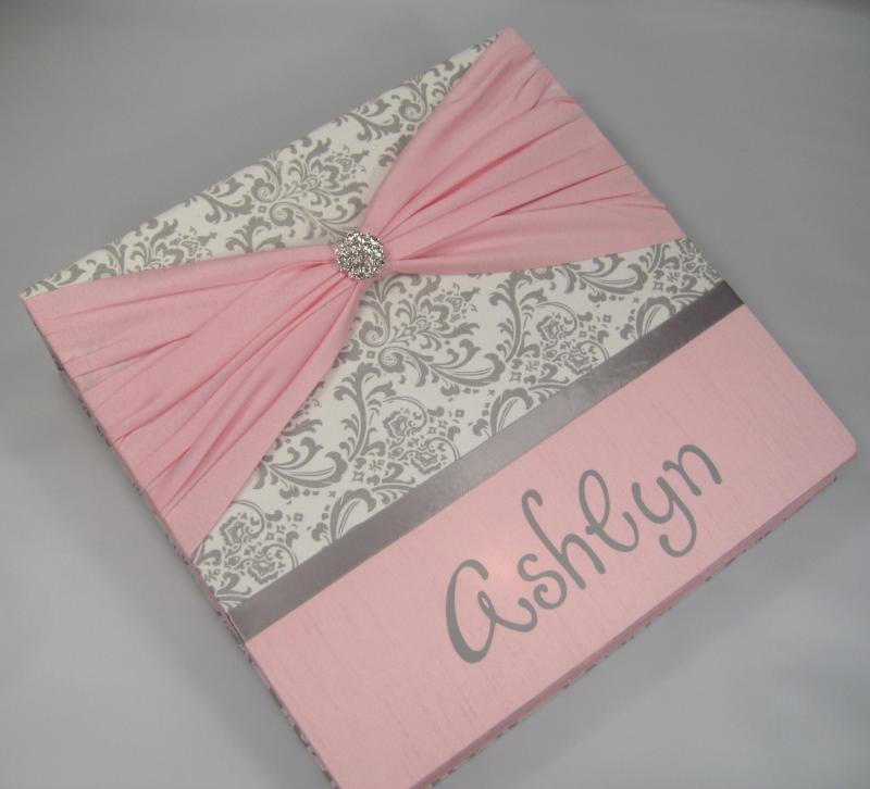 Baby Memory Book //Personalized // Baby Girl// by ...