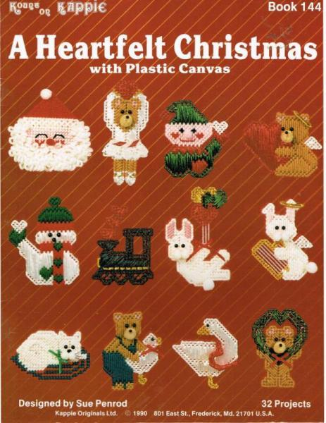 Heartfelt Christmas OrnamentsGift Tags By PatternsGalore On Zibbet Magnificent Plastic Canvas Pattern Books