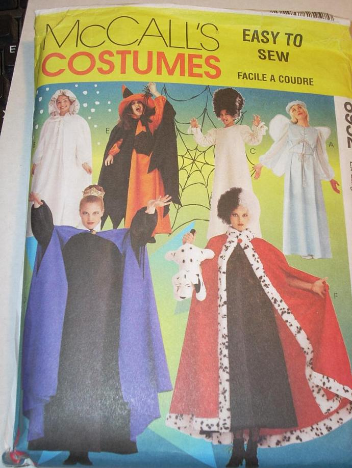McCall\'s Pattern 8952 Halloween Costumes Plus by LilacSeagull on