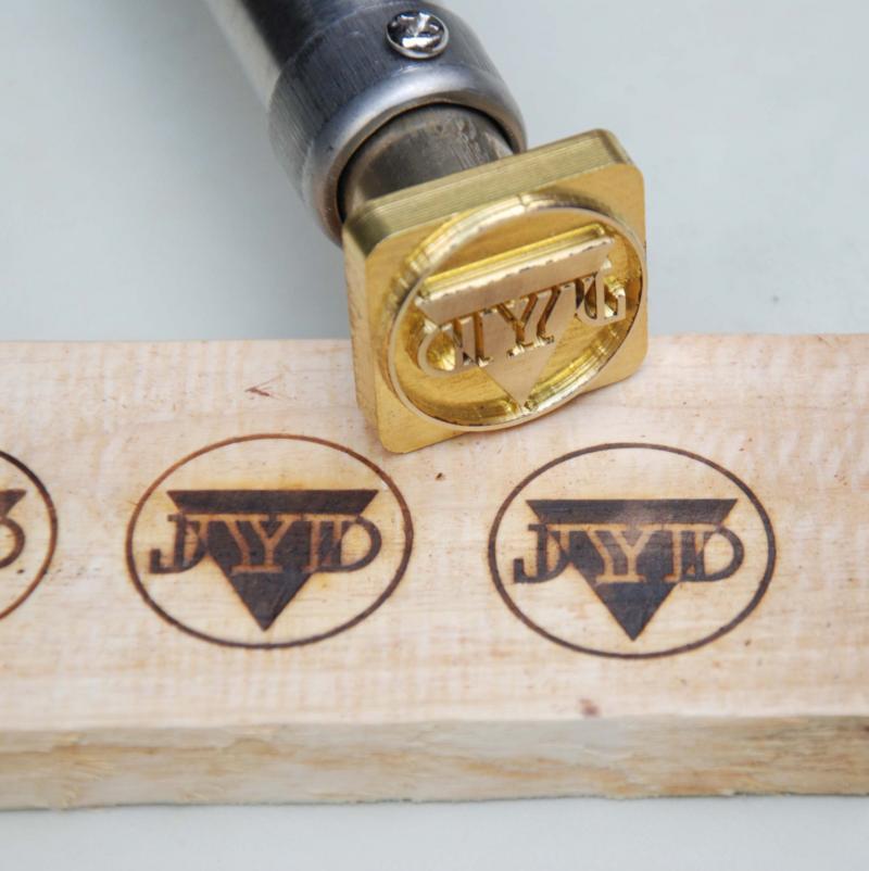 Temperature Adjustable Custom Wood Branding by