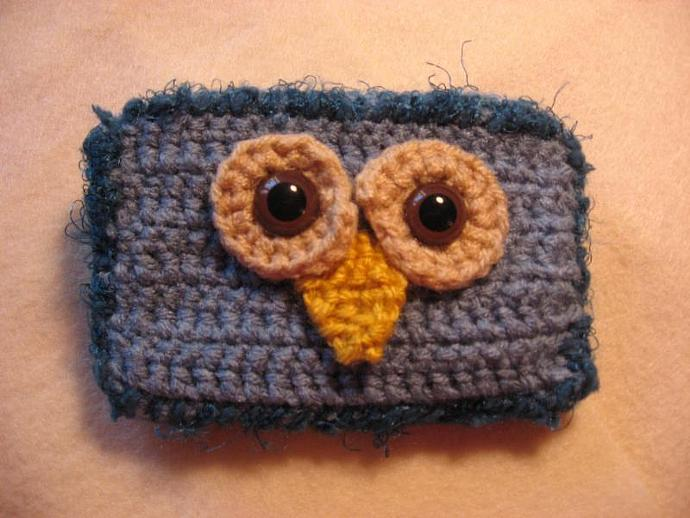 Blue Owl Cell Phone Case (ipod, gift card and more!)