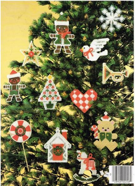 Christmas Ornaments for Plastic Canvas Pattern Book