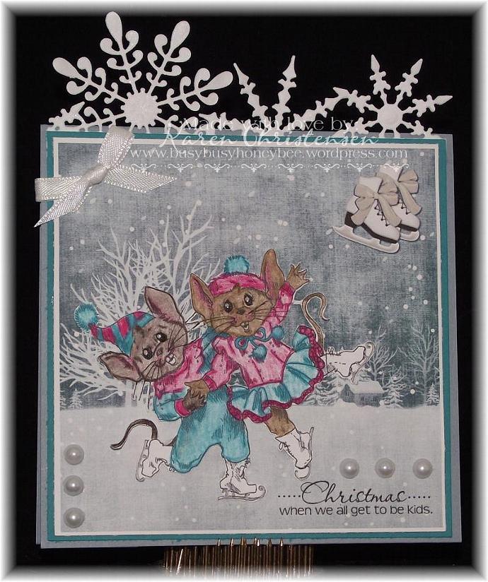 MiceSkaters digital stamp