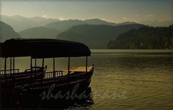 "Serene dreams ... 5 x 7"" (approx) fine art photographic print - Lake Bled,"