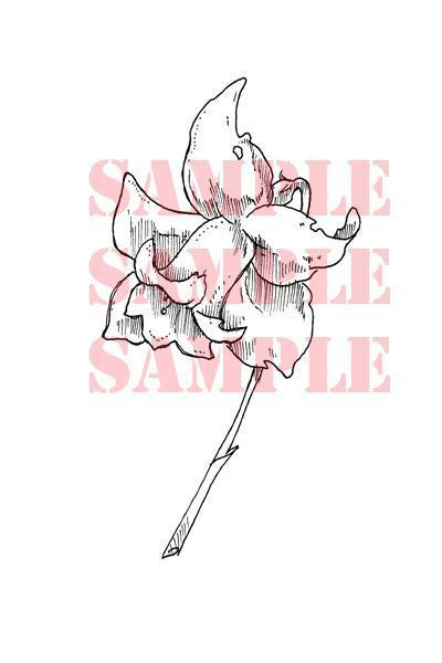 Daffodil single digi stamp