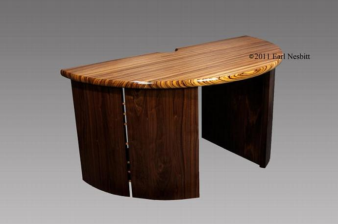 "Desk -- ""Dimidiated Orbicular Desk"""