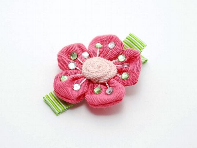 Cherry Blossom Hair Clip Sakura Hair Clip Spunkybunny