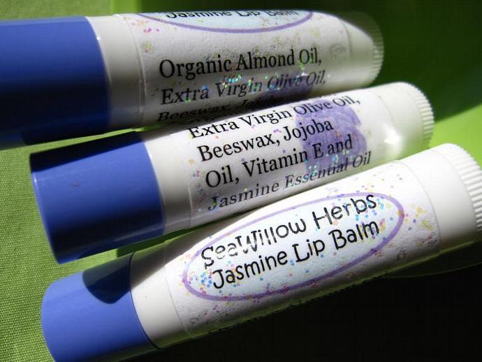 Sweet Jasmine Lip Balm Organic
