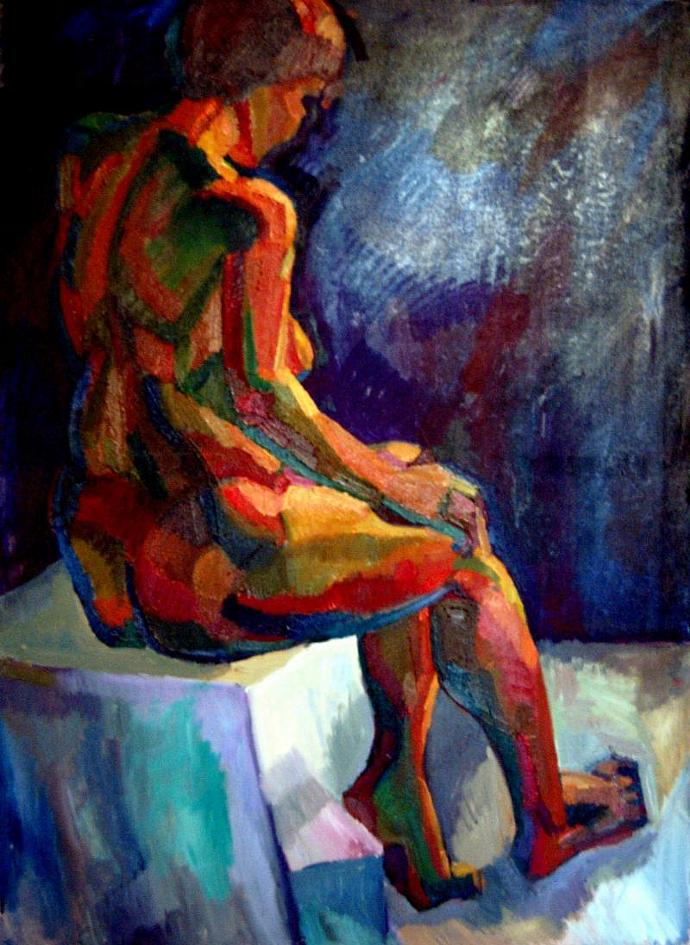 painting nude