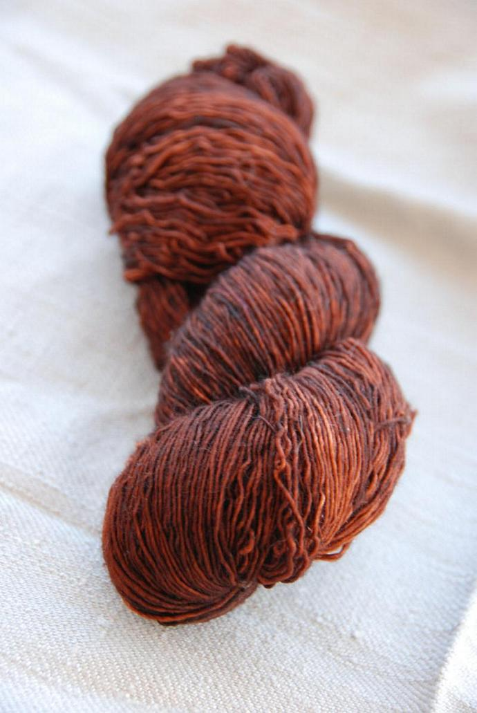 handdyed sockyarn superwash - wool/nylon mixture - fingering weight - colour