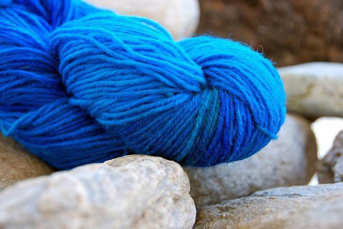 handdyed Yarn, 100g/ 3,5oz , colour 42
