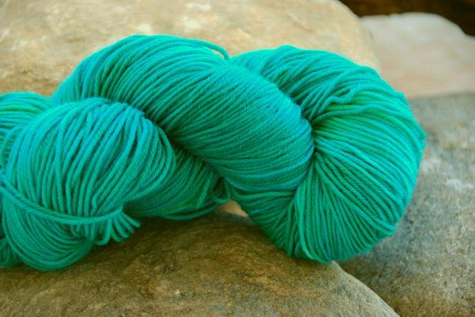 handdyed Yarn, 100g/ 3,5oz , colour 43