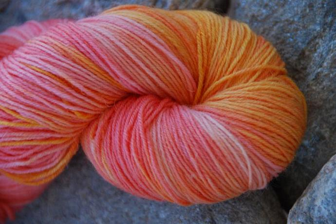 handdyed Yarn, 100g/ 3,5oz , colour 55