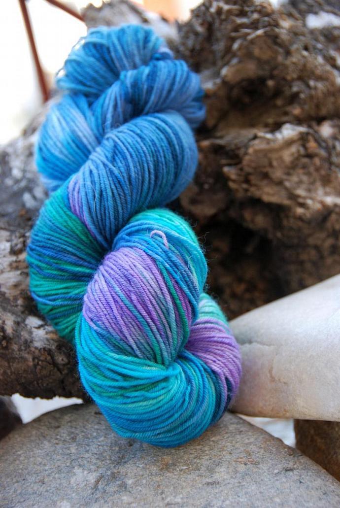 handdyed Yarn, 100g/ 3,5oz , colour 65