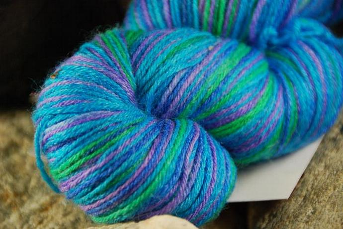 handdyed Yarn, 100g/ 3,5oz , colour 17