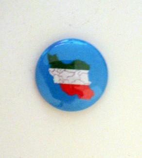 *Proud Iranian* Six 1 inch Button Pins