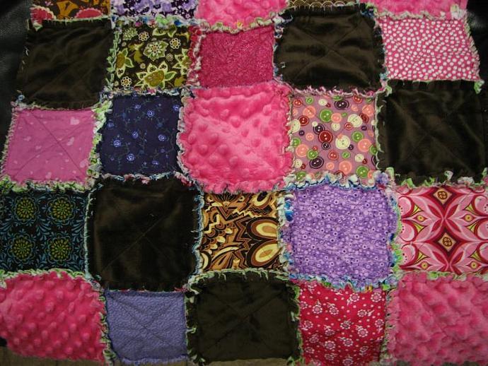 Baby Rag Quilt- Flea Market Ronda (Reserved)