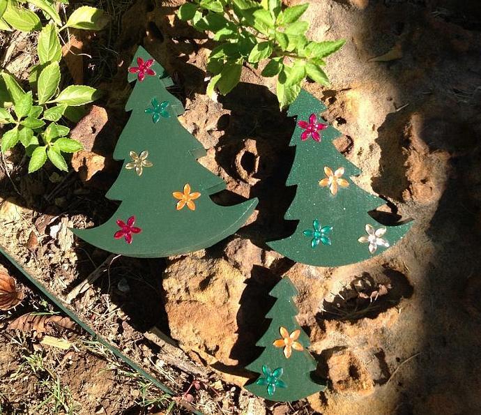 Rocking Christmas Trees