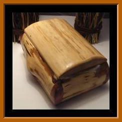 Cedar Log Box