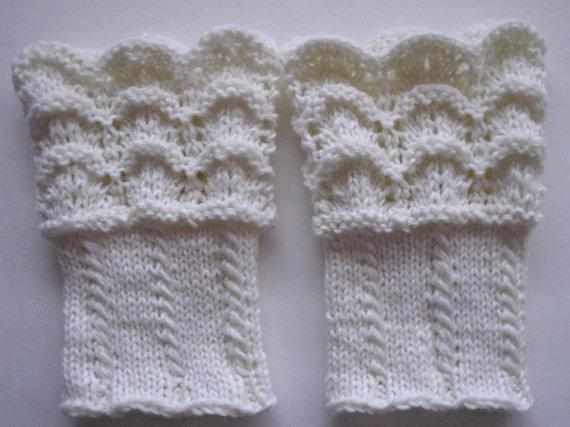 Hand Knit Boot Toppersboot Cuffs Leg By Marikatorontoknits On Zibbet