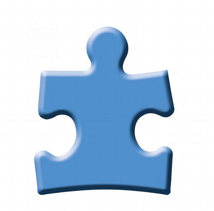 Puzzle Ornament