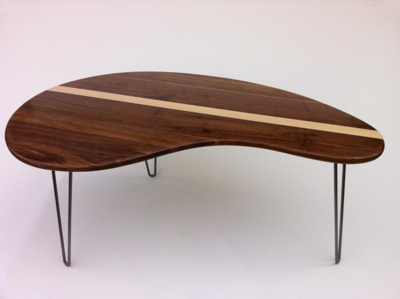 Mid Century Modern Coffee Table   Solid Walnut By Studio1212 On Zibbet