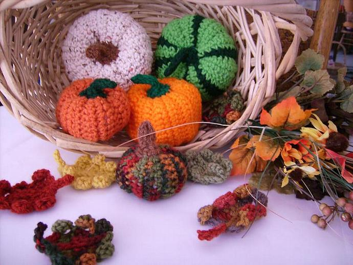 Small Cornucopia Pumpkin for Fall Decor - You Pick Color