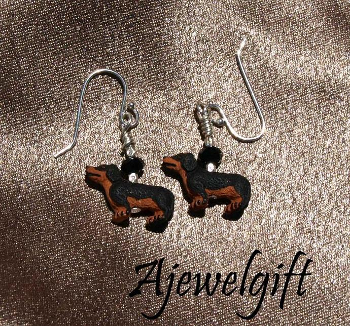 Dachsuhund Earrings 10047