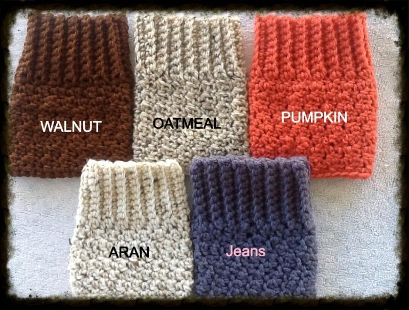 Crochetknit Boot Cuffs Boot Socks Boot Topper Lacrepes