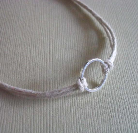 Good Karma Bracelet - Natural Hemp