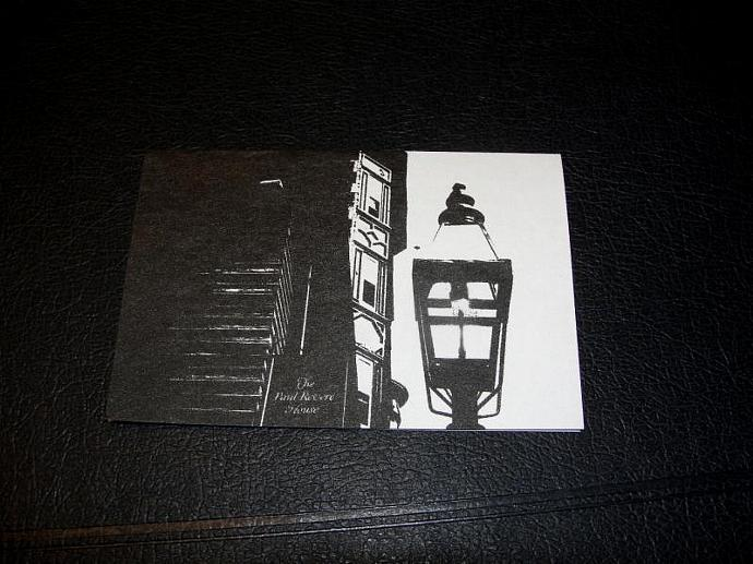 Black and White  Photo Magnetic Bookmarks