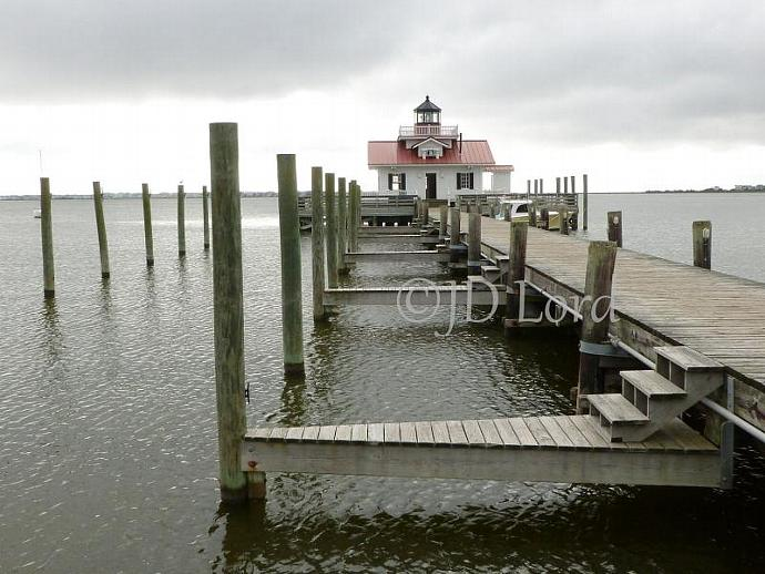 Manteo, NC Lighthouse, 8 x 10 Photo Print.