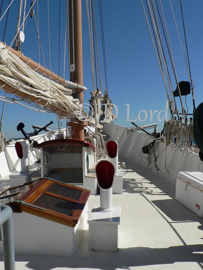Sailboat Deck Fine Art Photography 8 x 10 print