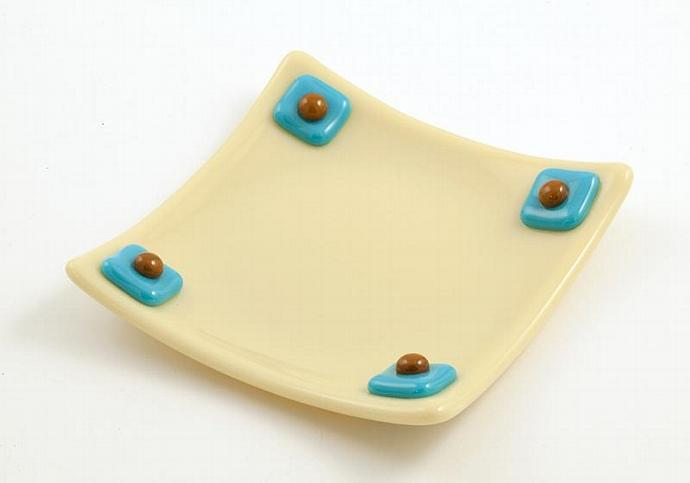 Fused Glass Dish/Plate