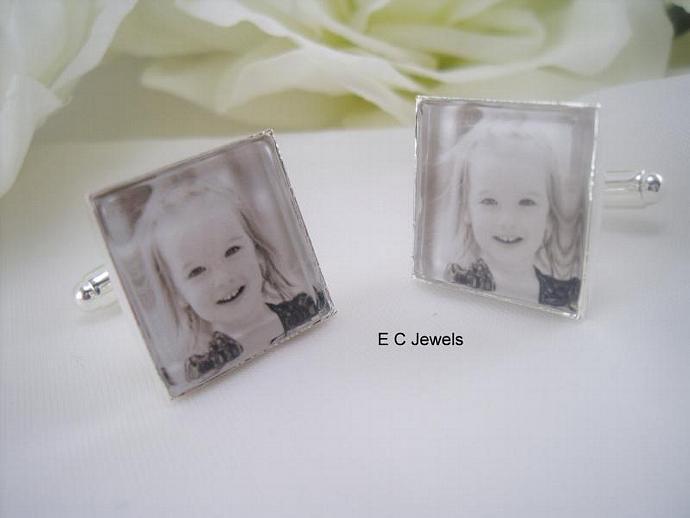Custom Photo - Cufflinks