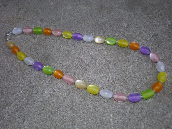 Jelly beans anyone resin necklace