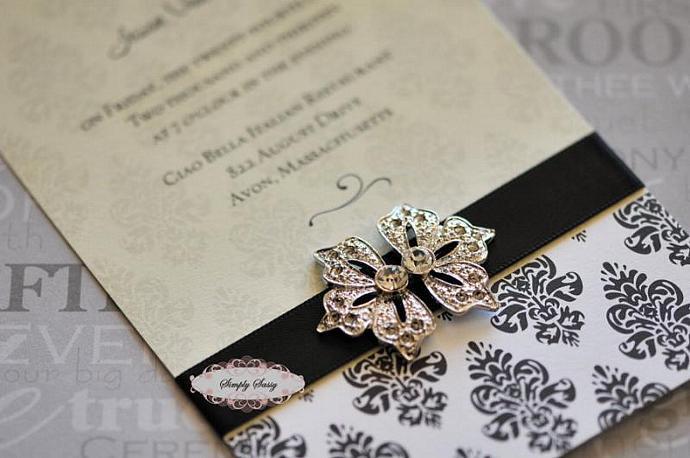 5 pcs RD115 Rhinestone Metal Flatback Embellishment Button Brooch Bridal
