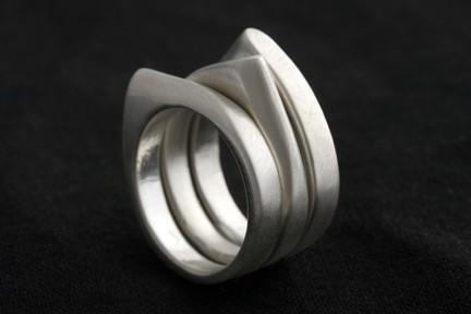 Stackable Point Ring