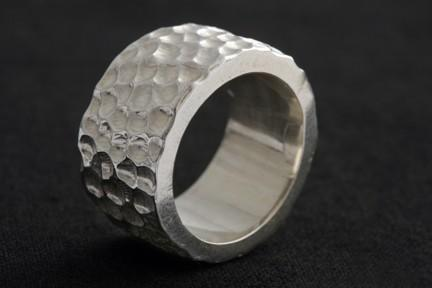 The Crater Sterling Silver Ring