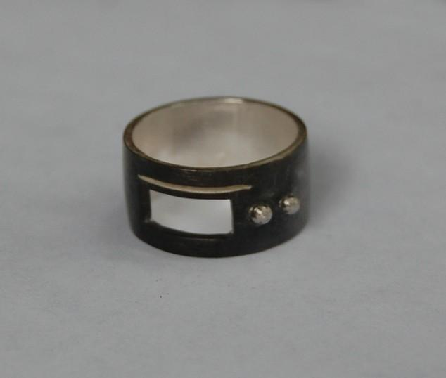 "Do You ""C"" Me Sterling Silver Band"
