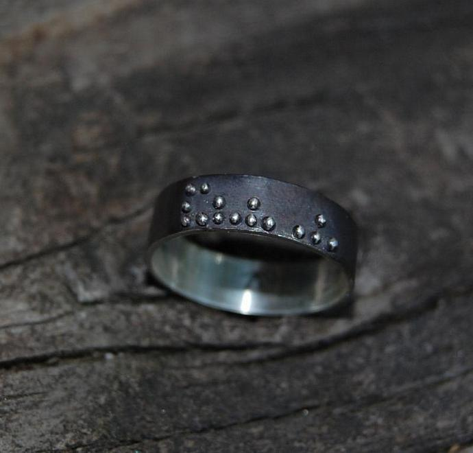 Daddy Braille ring