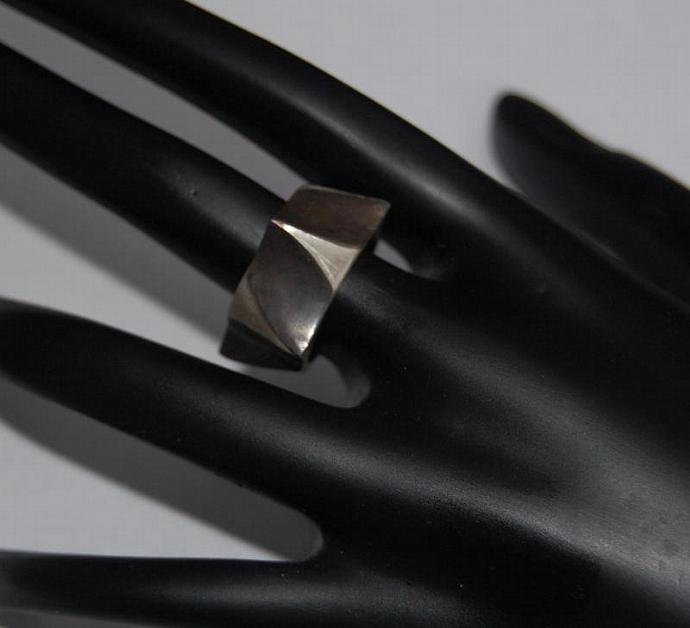 Nuts and Bolts Sterling Silver Ring
