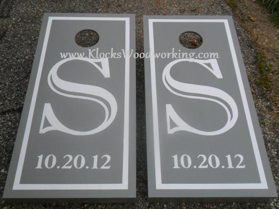 Personalized Big Monogram Custom Wedding | klockswoodworking