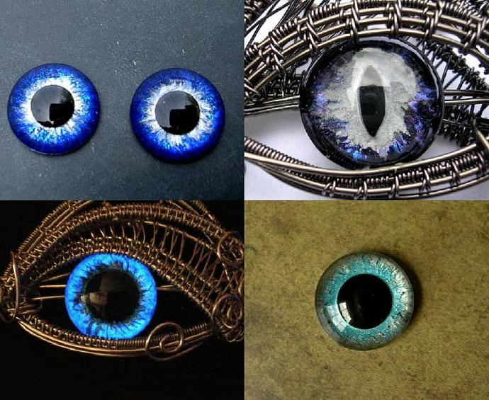 CUSTOM Just For You - 16mm Single Loose Eye - Evil Eye - Dragon Eye - Third Eye