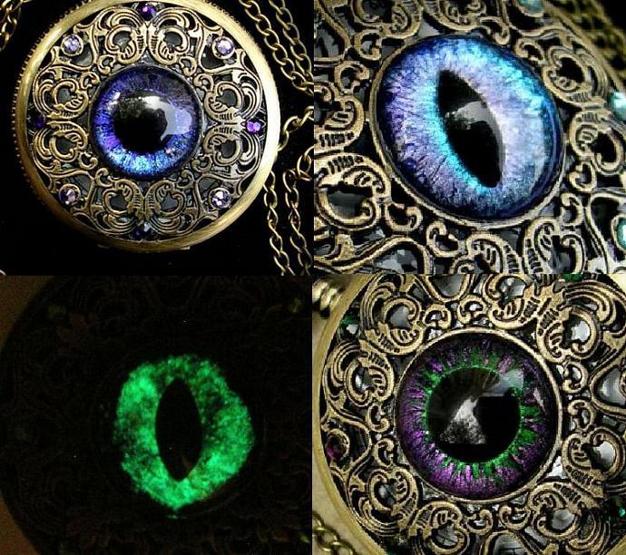 CUSTOM Just For You - 18mm Single Loose Eye - Evil Eye - Dragon Eye - Third Eye