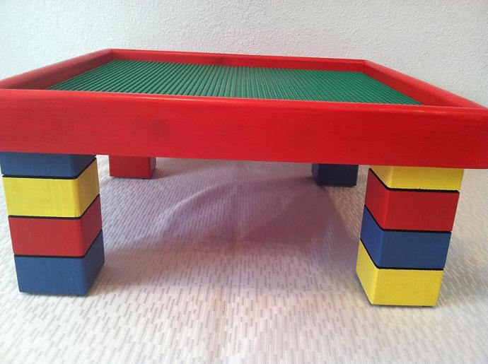 Kids Table inspired by LEGO pieces - Kids Activity Table - Kids Bedroom