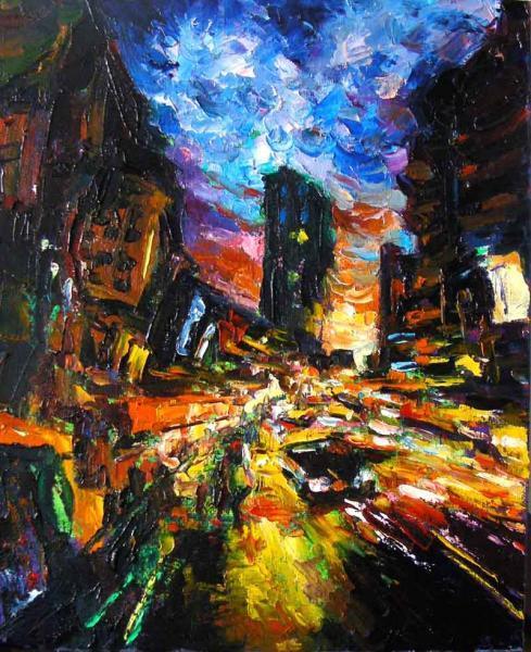 street of night
