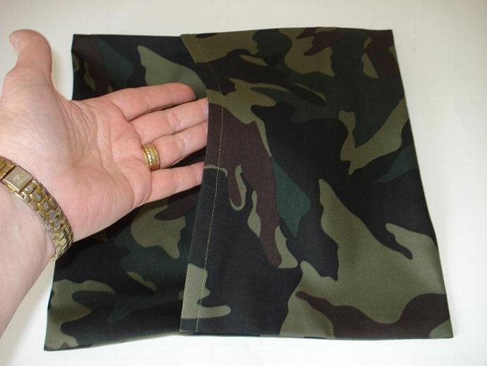 Camouflage Pillow Cover 12 x 12