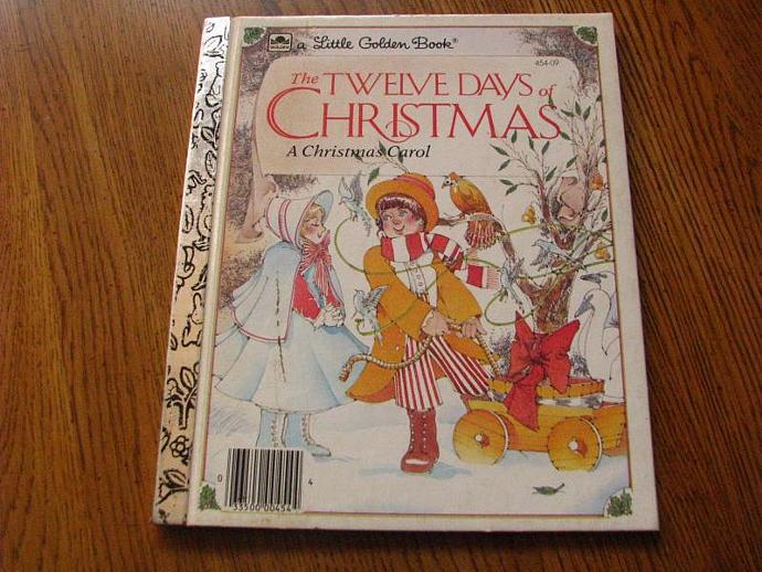 A Little Golden Book- The Twelve Days of Christmas