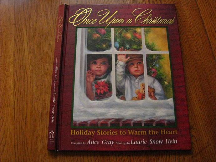 Once Upon a Christmas- Great cover picture- perfect for your December Daily - A
